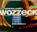GURLITT - Albrecht - Wozzeck