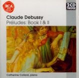 DEBUSSY - Collard - Préludes I, pour piano L.117