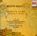 MAHLER - Rögner - Symphonie n°3