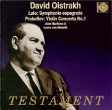 LALO - Oistrakh - Symphonie espagnole op.21