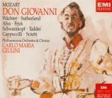 MOZART - Giulini - Don Giovanni (Don Juan), dramma giocoso en deux actes
