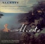 HAENDEL - Comte - Alceste, musique de scène (masque) HWV.45
