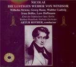 NICOLAI - Rother - Lustigen Weiber von Windsor (Die) (Les Joyeuses
