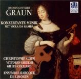 GRAUN - Coin - Concerto pour viole de gambe en la majeur
