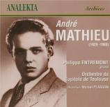 MATHIEU - Entremont - Symphonie romantique, pour piano et orchestre 'Con