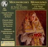 MOUSSORGSKY - Wojciechowski - Messe de Saint-Nicolas