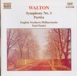 WALTON - Daniel - Symphonie n°1