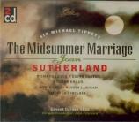 TIPPETT - Pritchard - The midsummer marriage live Covent Garden, London, 27 - 1 - 1955
