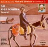STRAUSS - Rickenbacher - Des Esels Schatten (L'ombre de l'âne), pour réc