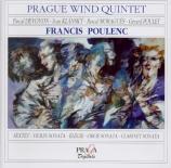 POULENC - Prague Wind Qui - Sextuor pour flûte, hautbois, clarinette, ba