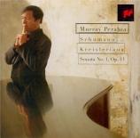 SCHUMANN - Perahia - Sonate pour piano n°1 en fa dièse mineur op.11 'Flo