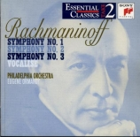 RACHMANINOV - Ormandy - Symphonie n°2 en mi mineur op.27