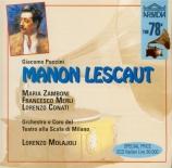 PUCCINI - Molajoli - Manon Lescaut