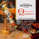 ROSSINI - Paris Quartet - Thème et variations