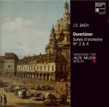 BACH - Akademie für al - Suite pour orchestre n°4 en ré majeur BWV.1069