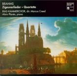 BRAHMS - Creed - Vier Quartette, quatre quatuors vocaux pour voix mixtes