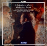 Orchestral Songs arranged by Max Reger