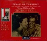 MOZART - Szell - Die Zauberflöte (La flûte enchantée), opéra en deux act Live Salzburg, 27 - 7 - 1959