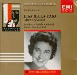 Récital de lieder (Salzbourg 1957)