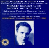 MOZART - Walter - Requiem pour solistes, chœur et orchestre en ré mineur