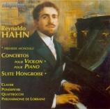 HAHN - Quattrochi - Concerto pour violon et orchestre