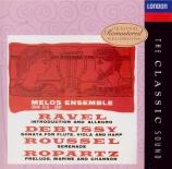 RAVEL - Melos Ensemble - Introduction et allegro, pour harpe, flûte, cl