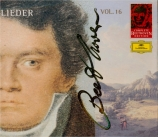 Lieder Complete Beethoven Edition Vol.16