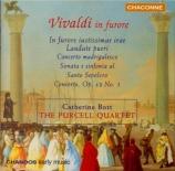VIVALDI - Bott - Sonate pour cordes et b.c. en mi bémol majeur RV.130 'A