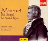 MOZART - Rosbaud - Don Giovanni (Don Juan), dramma giocoso en deux actes