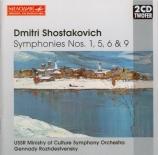 CHOSTAKOVITCH - Rozhdestvensky - Symphonie n°1 op.10