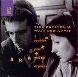 BRAHMS - Papavrami - Sonate pour violon et piano n°1 en sol majeur op.78