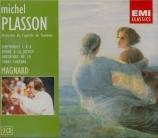 MAGNARD - Plasson - Hymne à la justice op.14