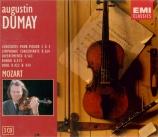 Oeuvres concertantes pour violon
