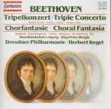 BEETHOVEN - Kegel - Triple concerto pour piano, violon et violoncelle op