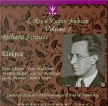 STRAUSS - Jochum - Elektra, opéra op.58 (Hamburg 1944) Hamburg 1944