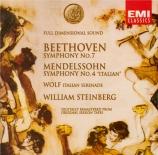 BEETHOVEN - Steinberg - Symphonie n°7 op.92