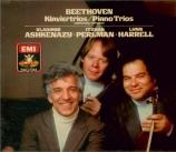 BEETHOVEN - Ashkenazy - Variations Kakadu, pour piano, violon et violonc