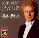 SCHUBERT - Bär - Die schöne Müllerin (La belle meunière) (Müller), cycle