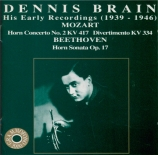 Dennis Brain : his early recordings