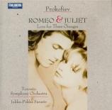 PROKOFIEV - Saraste - Romeo et Juliette op.64