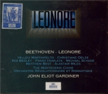BEETHOVEN - Gardiner - Léonore (1805), opéra op.72a H.109