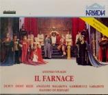VIVALDI - Bernart - Farnace, opéra en 3 actes RV.711