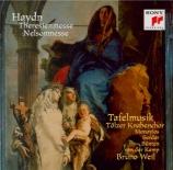 HAYDN - Weil - Theresienmesse, pour solistes, chœur mixte, orchestre et