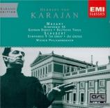 MOZART - Karajan - Symphonie n°33 K.319