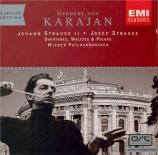 STRAUSS - Karajan - Ouverture de 'Die Fledermaus' (La chauve-souris), po