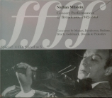 Concert Performances & Broadcasts 1942-1969