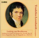 BEETHOVEN - Leonhardt - Andante favori, andante pour piano WoO 57
