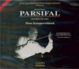 WAGNER - Knappertsbusch - Parsifal WWV.111 (Live Bayreuth, 1964) Live Bayreuth, 1964