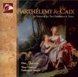 CAIX - Duo Guersan - Six sonates pour deux pardessus de viole op.1