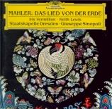 MAHLER - Sinopoli - Das Lied von der Erde (Le chant de la terre), pour t